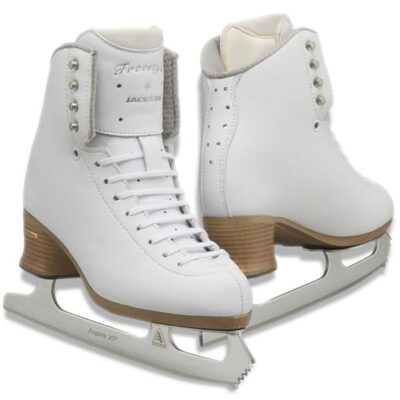 Jackson Freestyle Fusion Figure Skate Boot, MySkate at Cockburn Ice Arena. Perth, Western Australia