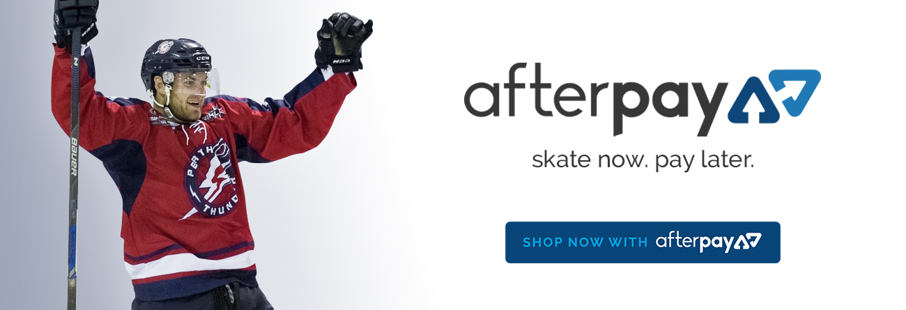 homepage banner informing customers we accept afterpay