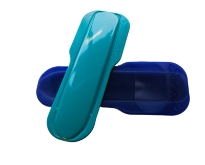 A hard plastic foot spinner for dancers and figure skaters alike