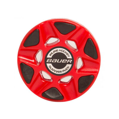 Bauer Slivvver Puck designed for outdoor road use