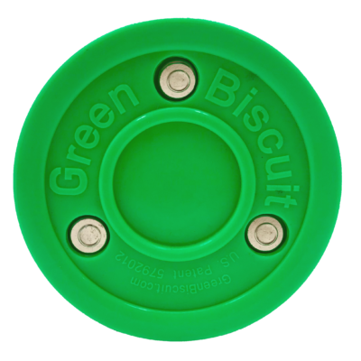Green Biscuit Green Blister Puck