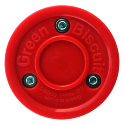 Green Biscuit Pink Blush Blister Puck